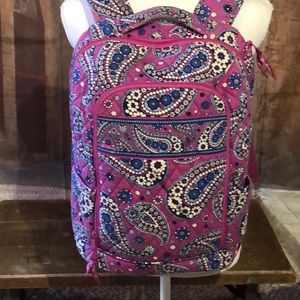 Vera Bradley Campus Tech Backpack. Authentic